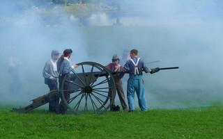 American Civil War - cannon | by Pickweb.