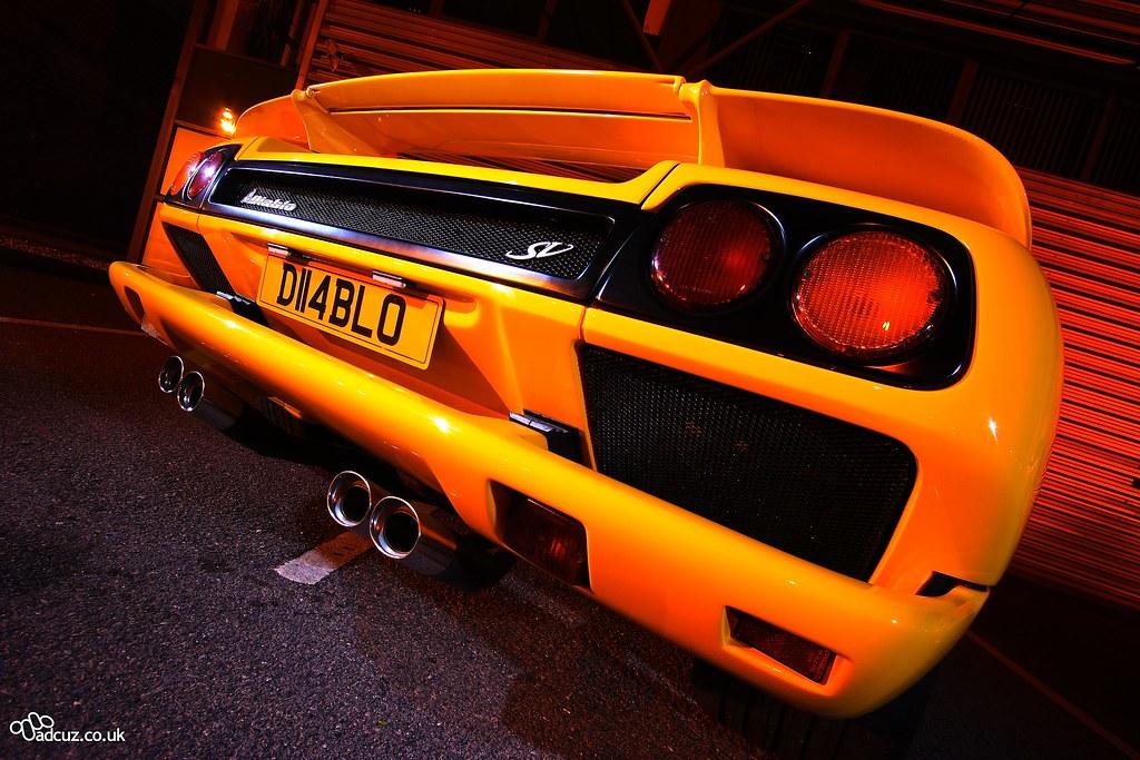 Lamborghini Diablo Sv Rear Adam Currie Flickr