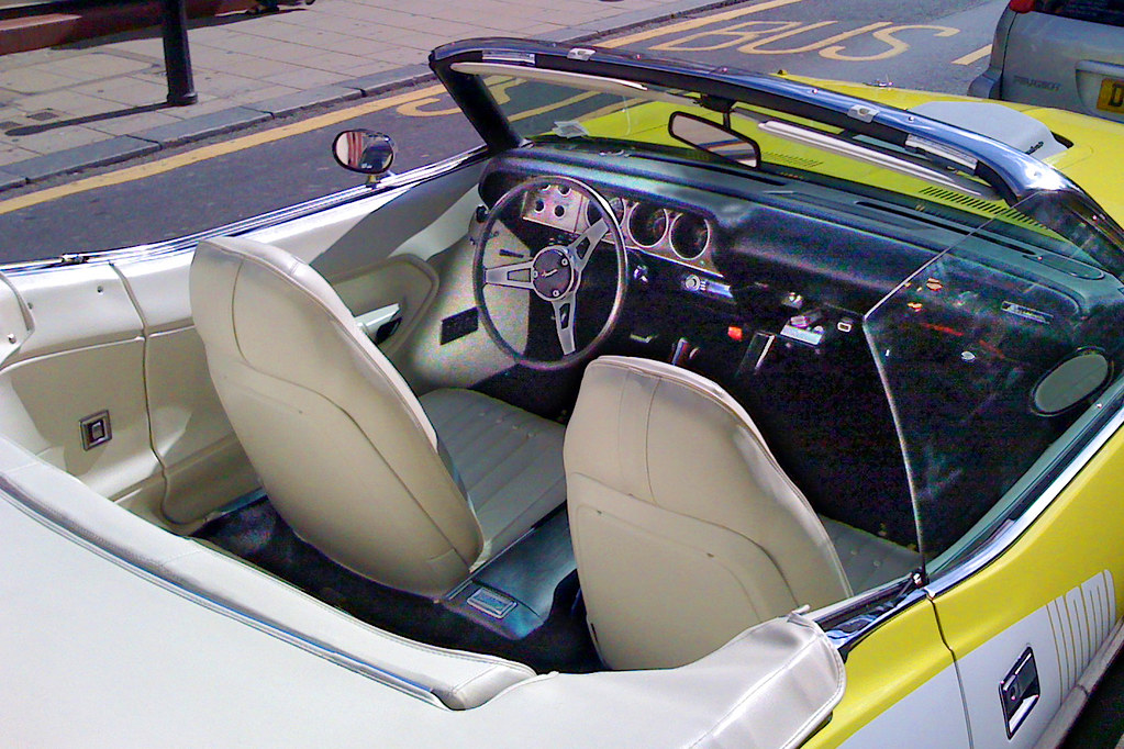 Plymouth Barracuda - White Leather Interior