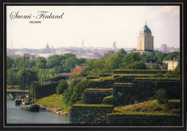 UNESCO Fortress of Suomenlinna Postcard