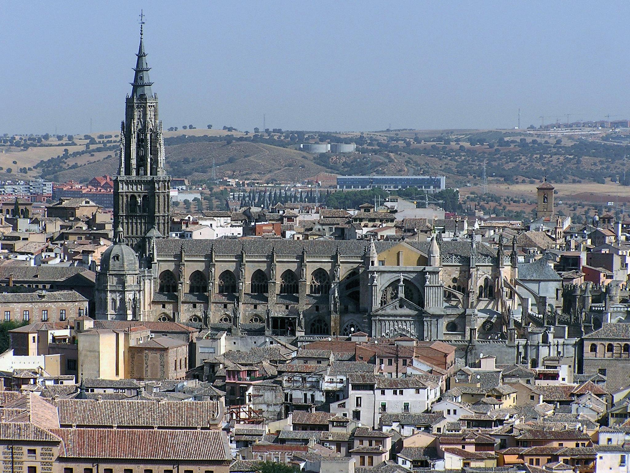 vista Catedral de Santa Maria de Toledo