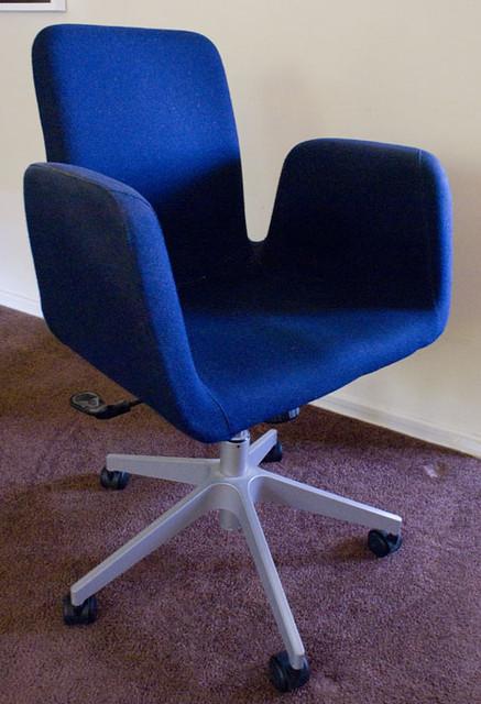 Admirable Sold Ikea Patrik Blue Desk Chair Sold 50 Ikea Product Inzonedesignstudio Interior Chair Design Inzonedesignstudiocom