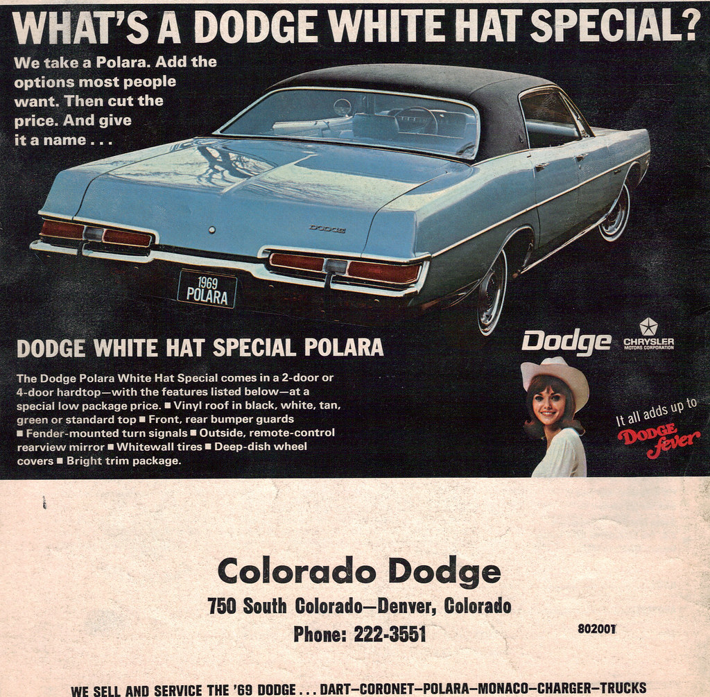 1969 Dodge Polara What Hat Special   coconv   Flickr