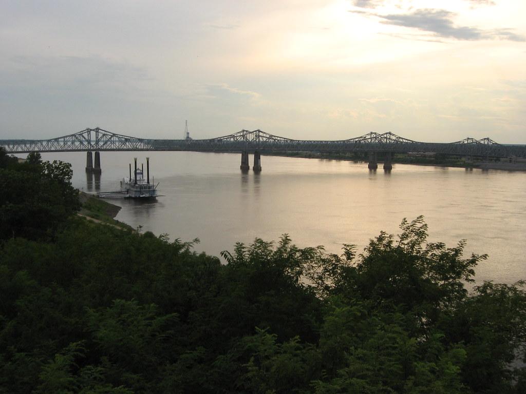 View of Mississippi River, Natchez, Mississippi