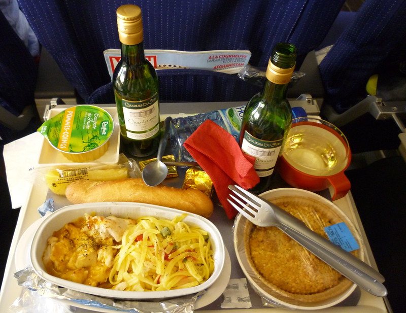 Air France Airplane Food