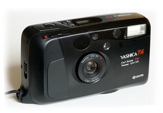 My Yashica T4 | by Images George Rex