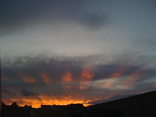 sunset usa america utah ut 3g iphone amangiri