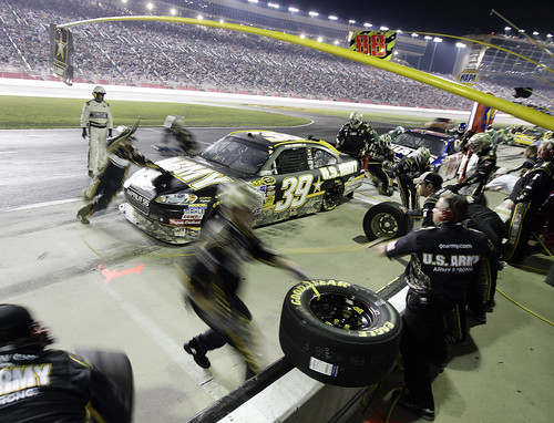 A pit-stop for Army Racing | by The U.S. Army