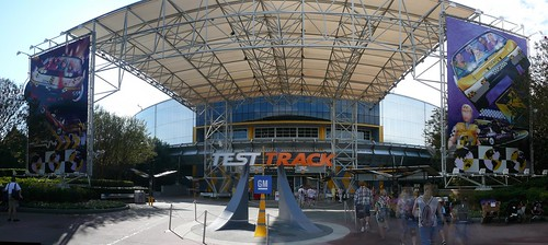 Test track Epcot Panorama 2009 | by mrkathika