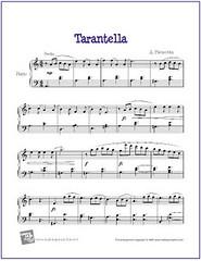 Tarantella Pieczonka Sheet Music For Easy Piano Pdf