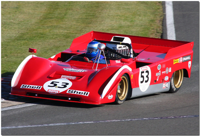 Ferrari 712 Classic Endurance Racing Series Silverstone 2009