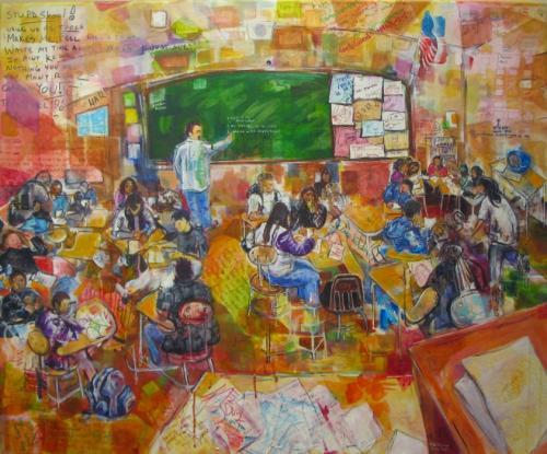 Collaborative Art Paintings