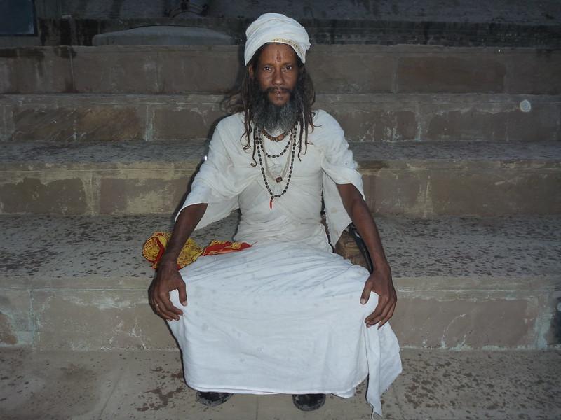 Portait of an Indian man