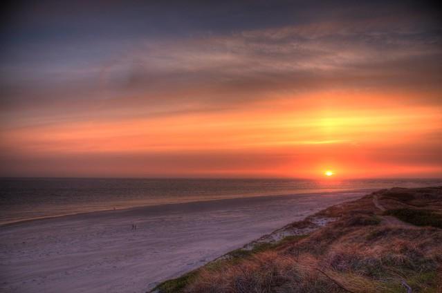 Blavand Coloured Sunset