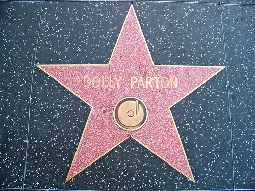 Dolly Parton's star on the Hollywood Walk of Fame | by Castles, Capes & Clones