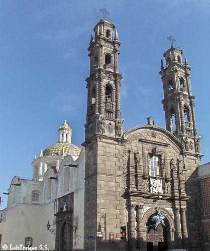Templo de San Cristobal, Puebla - México