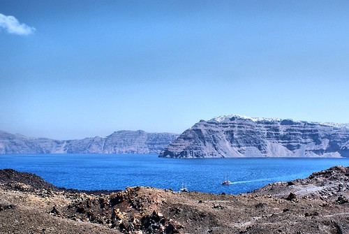 Volcanic Island, Santorini | by David Spender