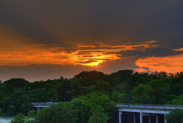 Sunset HDR - #2033_4_5