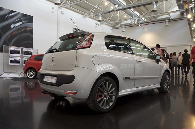 Anteprima Fiat Punto Evo - Centro Stile Fiat