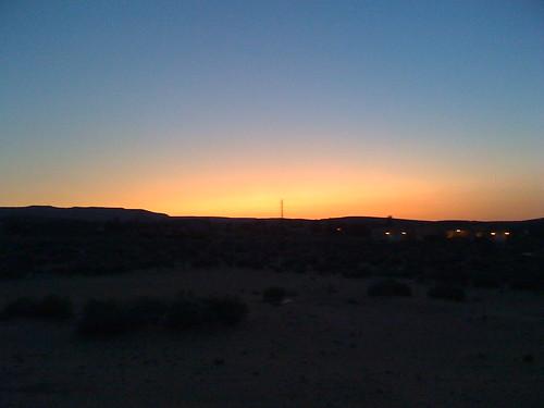 sunset sun america utah ut view 3g iphone bigwater