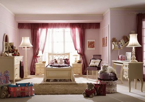 Romantic-Girls-Bedroom-Design-Ideas | pink romantic girls be… | Flickr