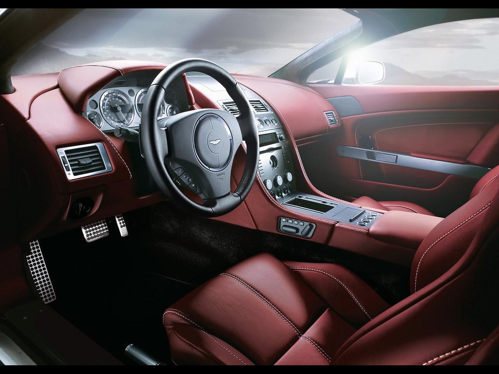 2007 Aston Martin V8 Vantage Roadster Interior 1600x1200 Flickr