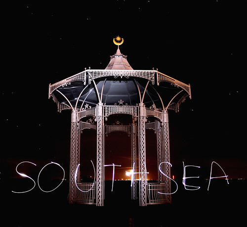 Band Stand Southsea - Light Writing | by Hexagoneye Photography