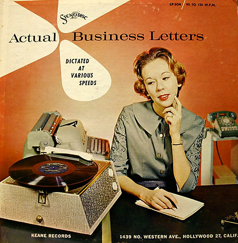 Actual Business Letters   by x-ray delta one