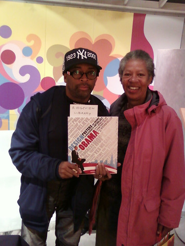 "Spike & Linda: Taschen ""Design For Obama"" Signing 