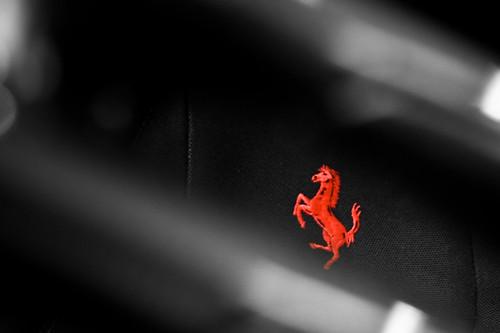 red horse logo ian connecticut greenwich ct ferrari miller badge 2009 scuderia f430 prancing 430 scud motorcars