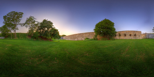Outside the Citadel - Quebec City Pano | by haban hero
