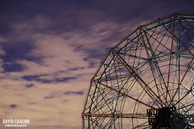 Ferris wheel in Coney island