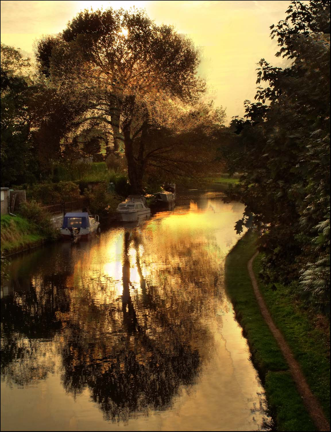 Grappenhal,Bridgewater,canal,sunset,stanney,lunt,bridge,water,tree,dusk,TDKTony,TDK,Tony,Smith,Hotpix,HotpixUK,hotpix.freeserve.co.uk,sun,set,Grappenhall Village,Grappenhall,Cheshire,England,UK,village,Warrington,A50,A56,365days,HDR,high dynamic range,tonysmith,hotpics,hotpic,hotpick,hotpicks,hot,pics,pix,picks,noche,nuit