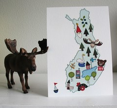This is Finland postcard | by syko Kajsa