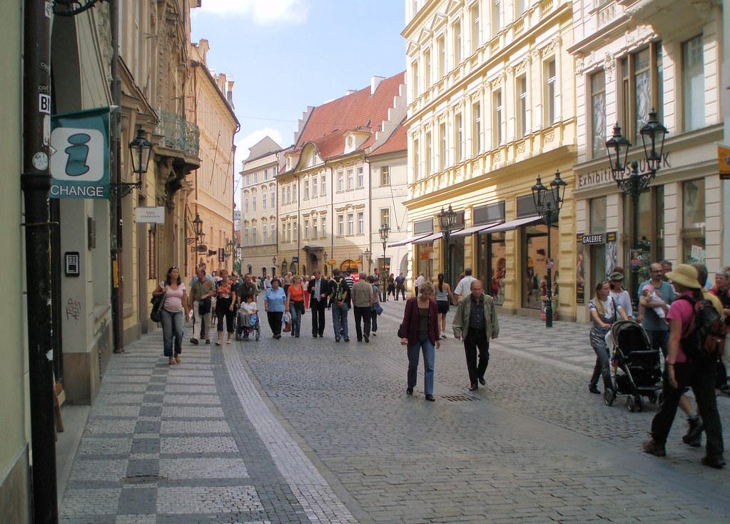 Celetna Street Prag