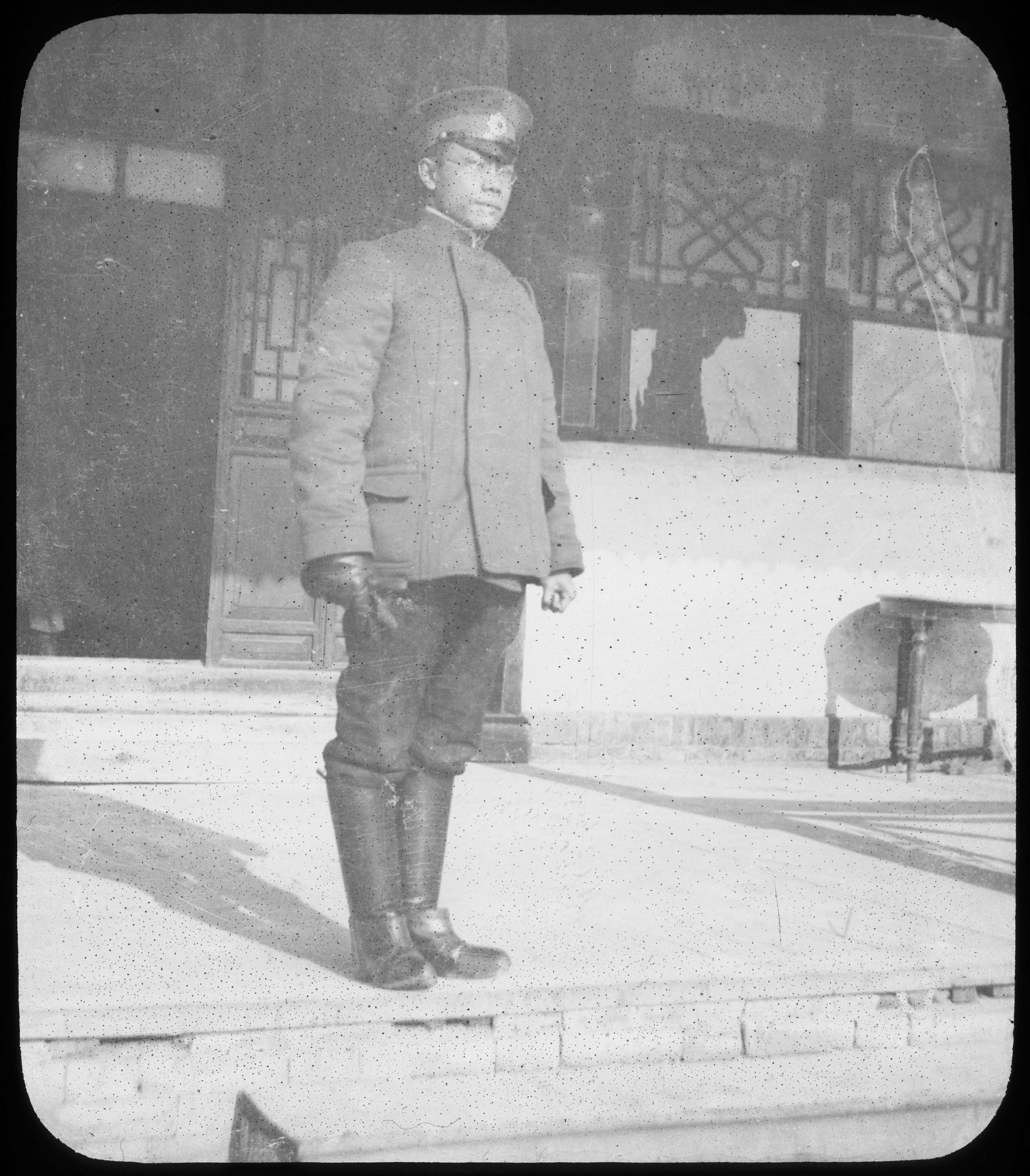 Dr. Wu Lien Te, Chinese Director of Anti-Plague Bureau, Fuchiatien 7385424