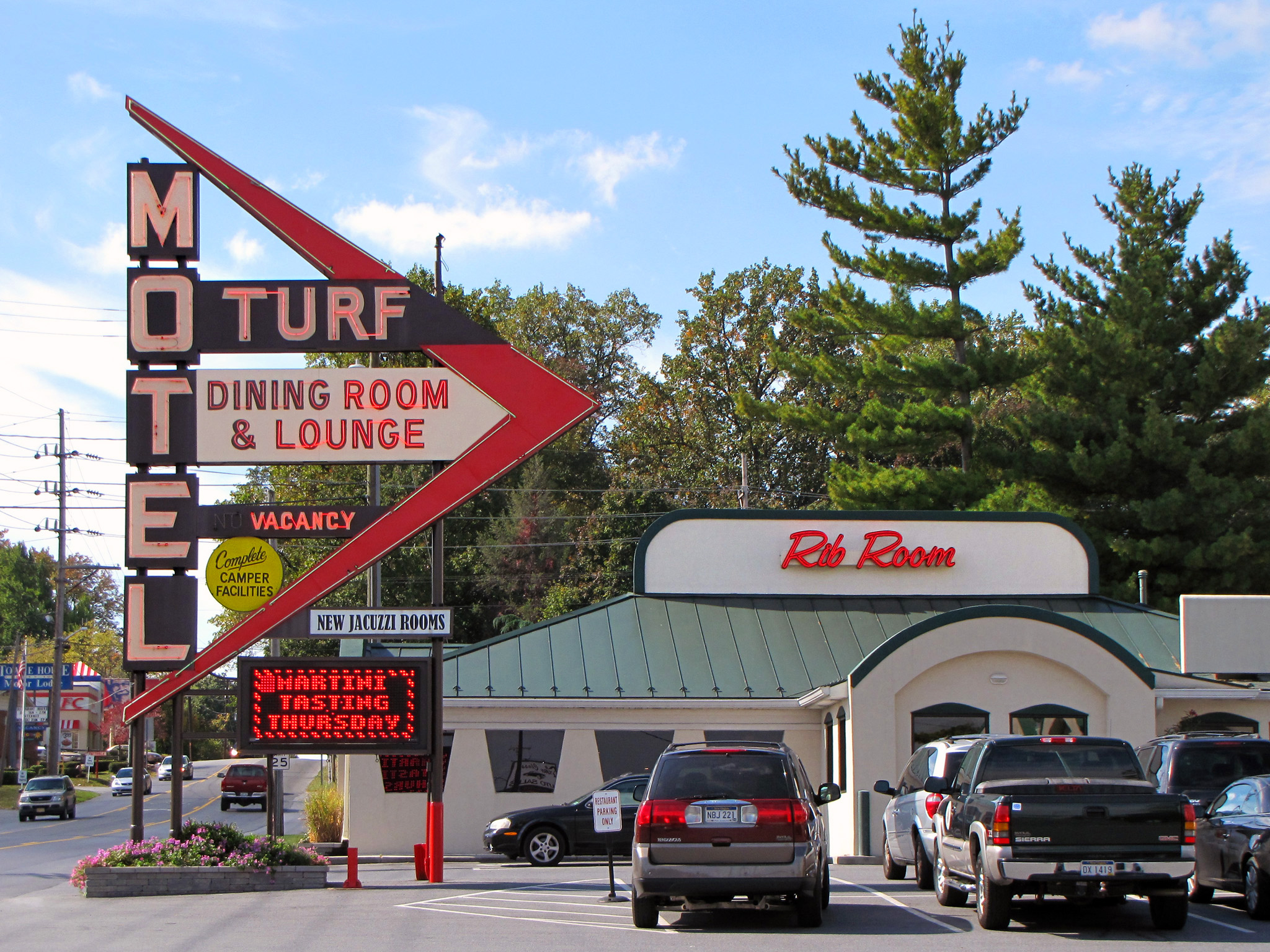 Turf Motel - 741 East Washington Street, Charles Town, West Virginia U.S.A. - October 11, 2009