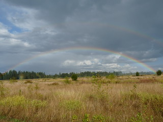 Double Rainbow - Tualatin Wildlife Refuge