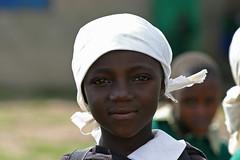 Smilende elev på Githabai Primary School