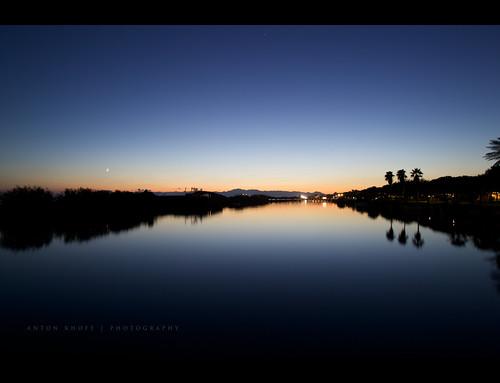 travel bridge light sunset sea vacation sky moon mountains water canon turkey river gloria palm belek antonkhoff