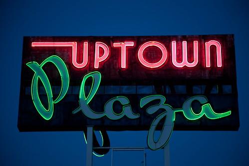 newmexico route66 neon gallup uptownplaza