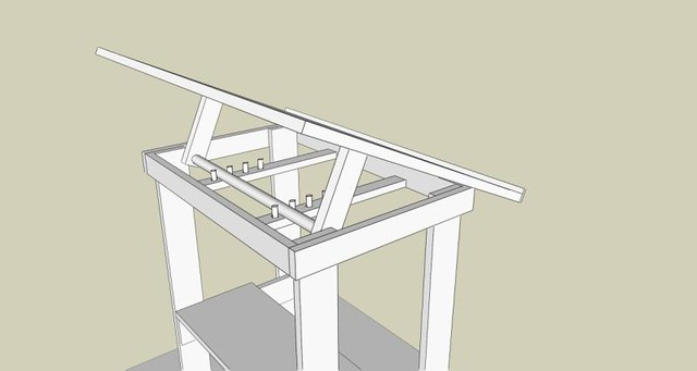 Ordinaire Build Your Own Drafting Table, Cheap! | Flickr