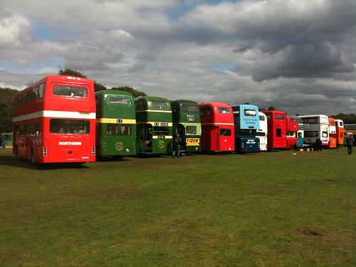 Nice selection of REAL buses! | by Gene Hunt