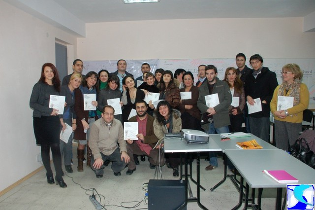 PR School - Presentation of Kakha Magradze's Hand Book 18.11.09