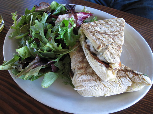 Steak Panini at Coral Tree Cafe | by TheDeliciousLife
