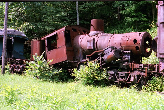 Cass Senic Railroad abandoned Climax