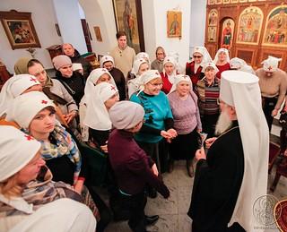 Литургия в Софийском соборе 520