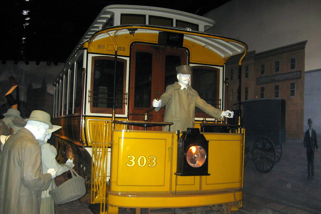 Washington DC - National Museum of American History: America on the Move - Capitol Traction Company electric streetcar