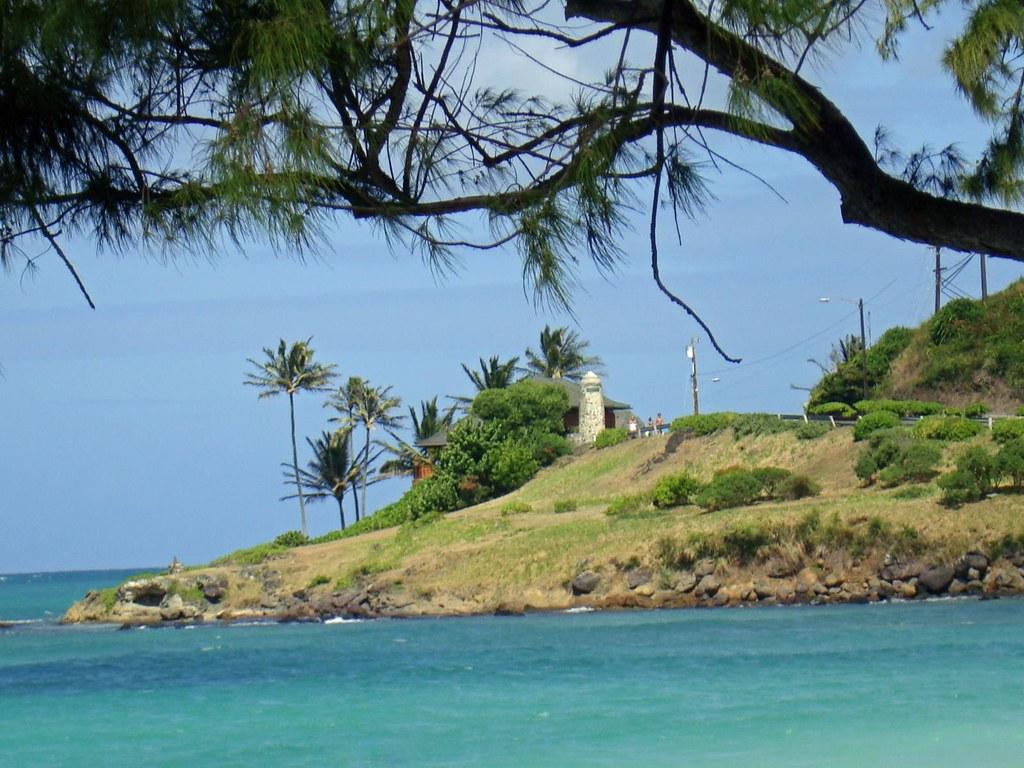Lanikai Beach Marker As Viewed From Kailua Beach Park Flickr