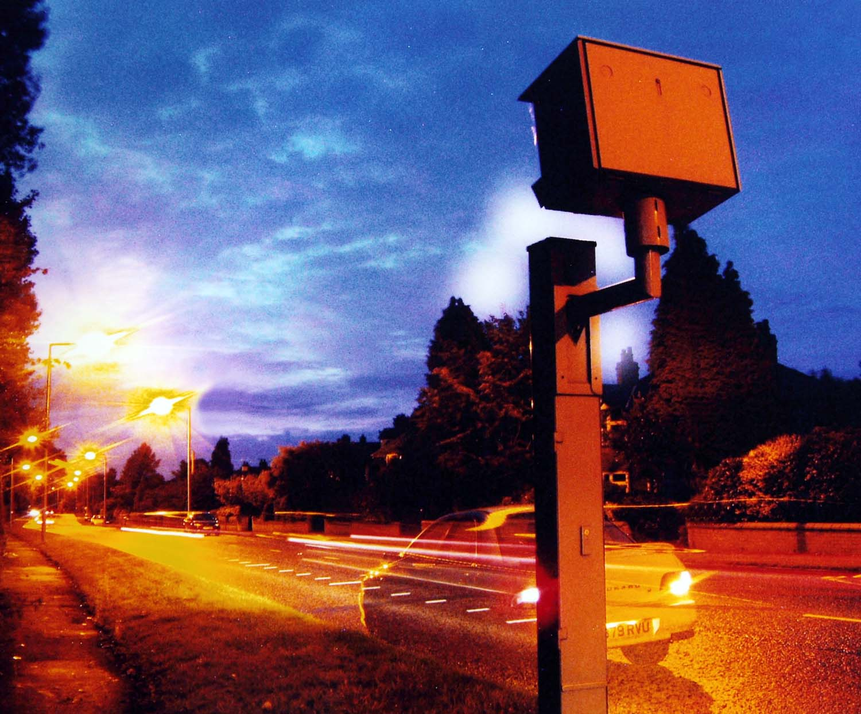 Gatso,speed,camera,A49,Stockton,Heath,Warrington,Appleton,Stretton,Night,nightshot,shot,dusk,UK,Cheshire,M56,J10,junction10,tripod,tripod shot,long,exposure,long exposure,working,cameras,speedcamera,england,gb,britain,tonysmith,tony,smith,interesting,place,places,noche,nuit,hotpix!